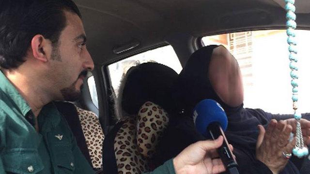 הריאיון עם נהגת המונית בבגדד עצבן את בני משפחה