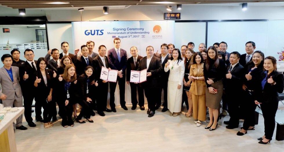 """צוות אוקטופוס בתאילנד חותמים על הסכם עם חברת האבטחה הגדולה במדינה. עכשיו מנסים גם באירופה  (צילום: יח""""צ)"""