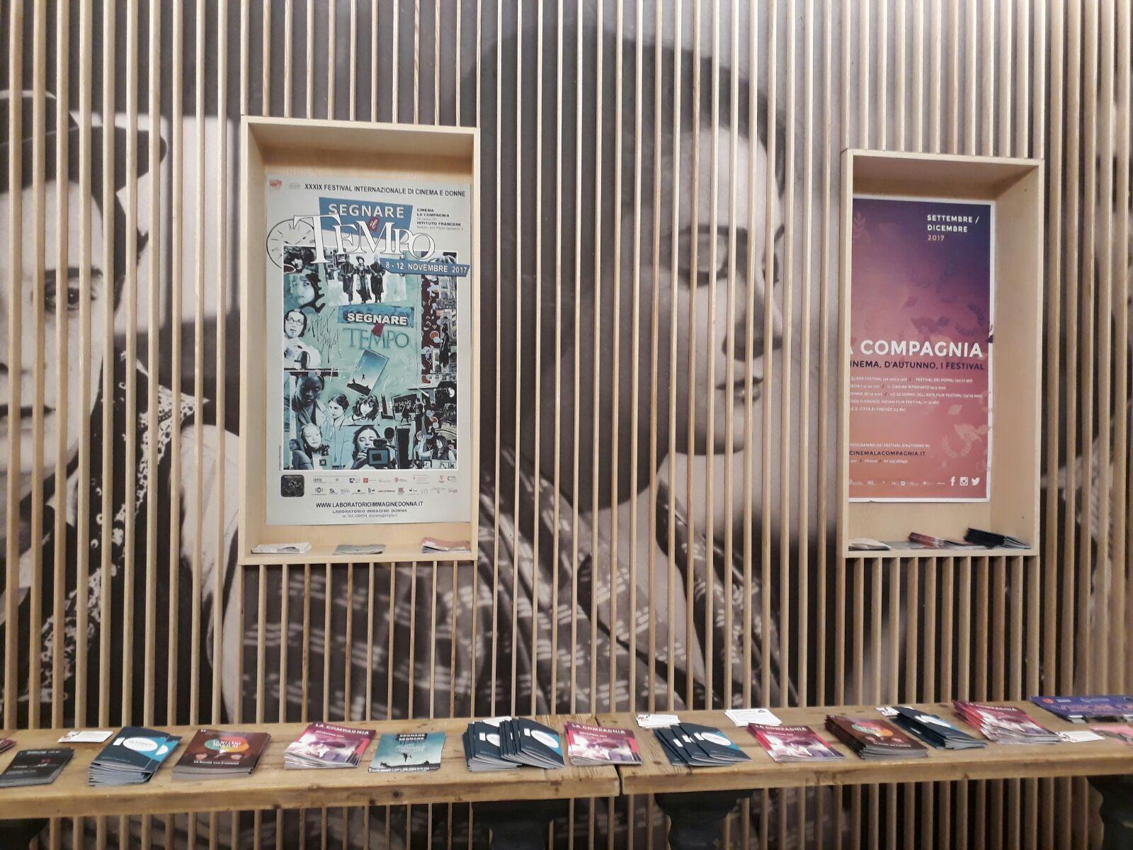 לא מובן מאליו: סרט בשפת המקור בקולנוע בפירנצה (צילום: אילאיל קופלר) (צילום: אילאיל קופלר)