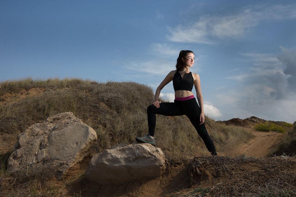 אשמורת משעל. הפכה מבחורה שברירית לחיית מרתונים (צילום: עוז מועלם) (צילום: עוז מועלם)