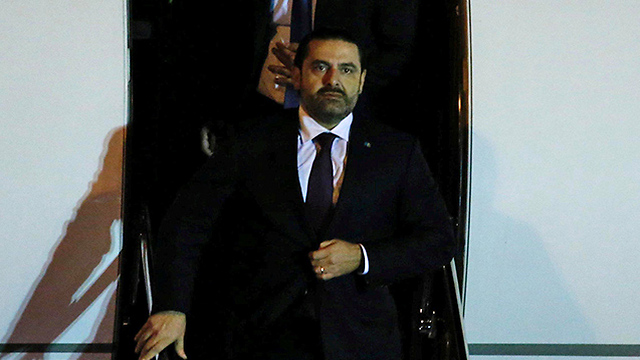 Hariri returns to Lebanon (Photo: Reuters)