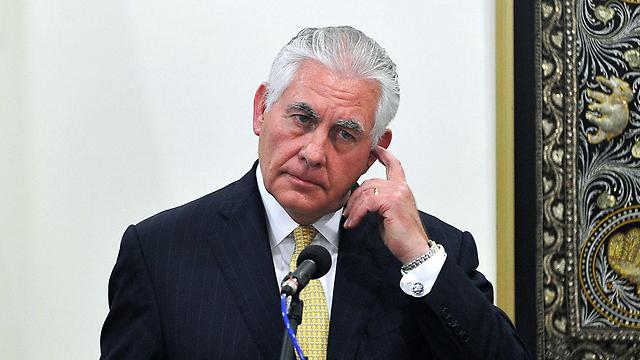טילרסון. הזהיר את רוסיה מבידוד גובר (צילום: AFP)