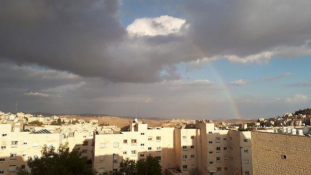 פסגת זאב בירושלים (צילום: מלכה מזרחי )
