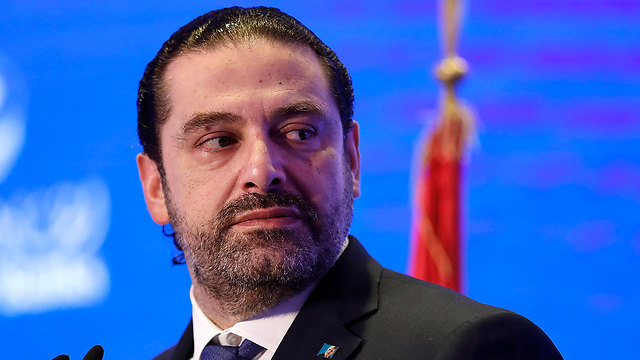 Lebanese PM Saad al-Hariri says Defense Minister Lieberman's words are 'blatant provocation' (Photo: AP)