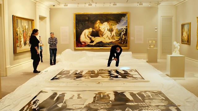 """בארץ האומנות נמצאת בתחתית סדר העדיפויות. מוזיאון ישראל, מתוך הסרט """"המוזיאון"""" ()"""