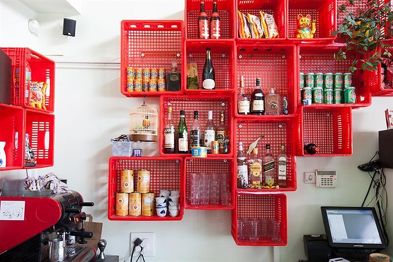 """פשוטה וצבעונית. מסעדת """"האנוי"""" (צילום: טליה רוזן)"""