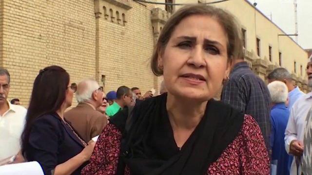 """""""בת 9 שמתחתנת לא חווה את הילדות והנעורים"""". מפגינה בבגדד ()"""