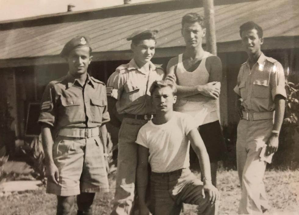 Israel, 1947 (Photo courtesy Yehudit Aricha)