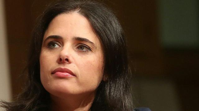 Ayelet Shaked (Photo: Gil Nachshoni)