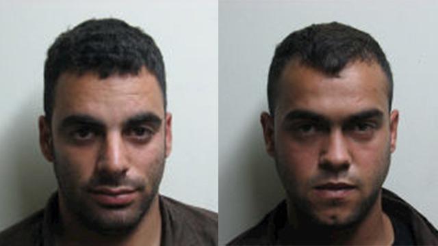 שניים מחברי החוליה שביצעו את הפיגוע ()