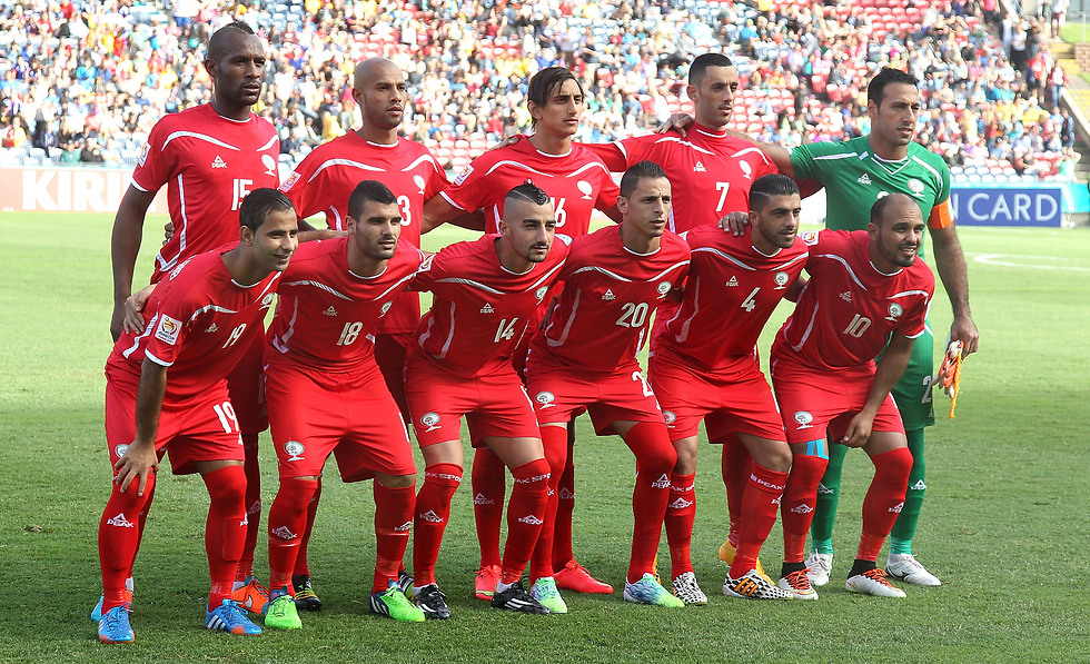 The Palestinian national team had overtaken Israel in FIFA's rankings (Photo: Getty Images)