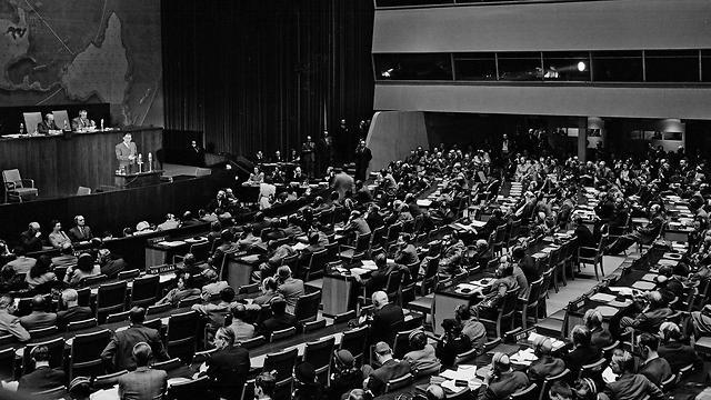 Генассаблея ООН провозглашает раздел подмандатной Палестины