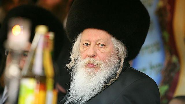 Rebbe of Gur, Rabbi Yakov Aryeh Alter (Photo: Meir Alfasi/Kikar HaShabat)