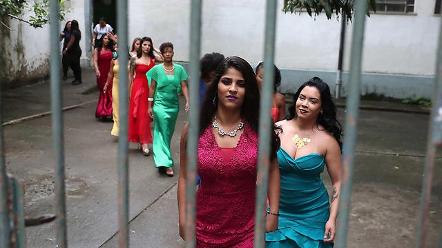 10 נשים מתוך 440 אסירות נבחרו (צילום: EPA) (צילום: EPA)