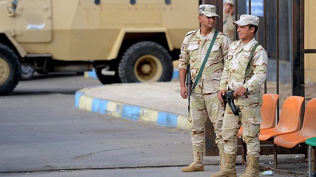 Египетские солдаты на Синае. Фото: AFP
