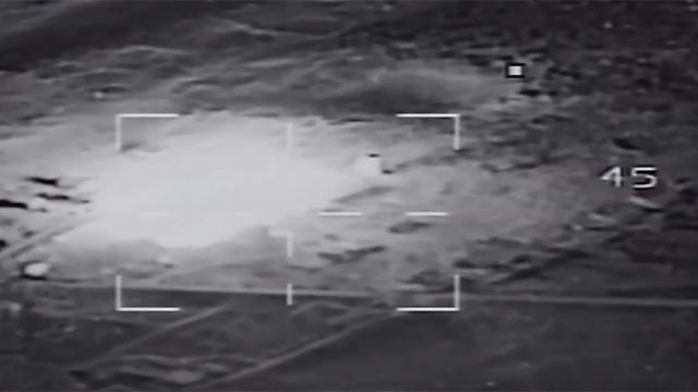 """Удар по объекту """"Исламского государства"""" на Синае"""