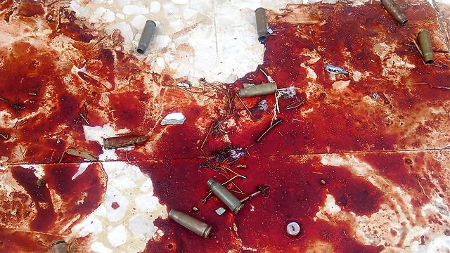 Blood and bullets at the mosque  (Photo: Reuters)