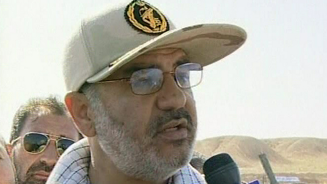 Iranian army Brig. Gen. Salami (Photo: AP)