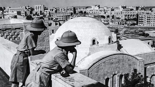 Евреи в ожидании решения о своем государстве, 1947 год. Фото: AFP