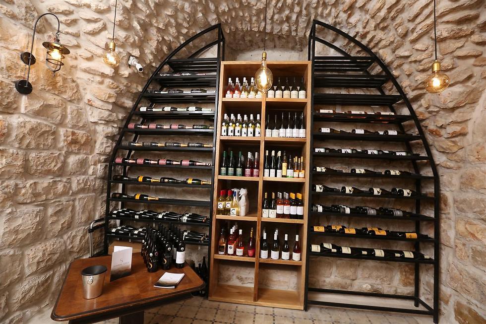 באווירת קודש. The Wine Temple (צילום: שלומי כהן ומאיר פטרוב) (צילום: שלומי כהן ומאיר פטרוב)