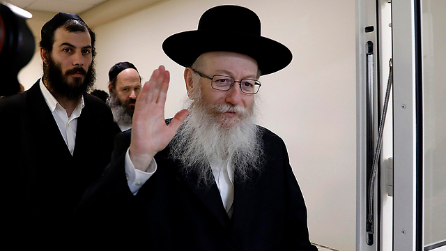 Deputy Health Minister Yaakov Litzman. Haredi politicians are driven by a fear to advance the integration in public, despite being the main representatives of that process (Photo: EPA)