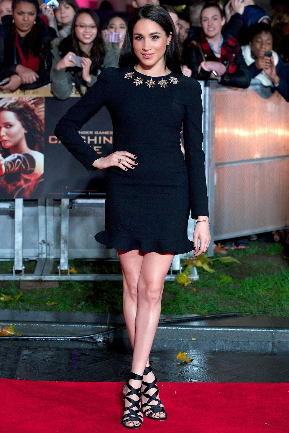 התפרסמה בעיקר בתפקיד שגילמה בסדרה האמריקנית Suits. מייגן מרקל (צילום: AFP) (צילום: AFP)