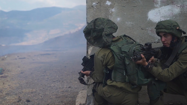 Golani Brigade Namer APC training (Photo: IDF spokesman)