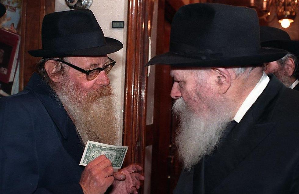 With the Lubavitcher Rebbe