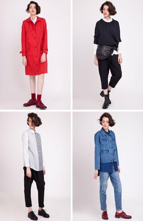 קום איל פו. קולקציית ביכורים למעצבת האופנה טל רוזנפרב, בוגרת שנקר מחזור 2016 (צילום: תמוז רחמן והדס פרץ)