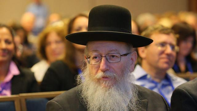 MK Yaakov Litzman (Photo: Motti Kimchi)