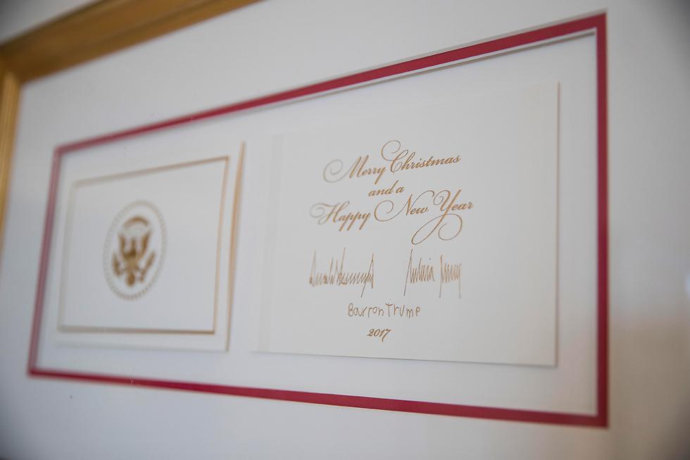 Рождественская открытка президентской семьи. Фото: AP