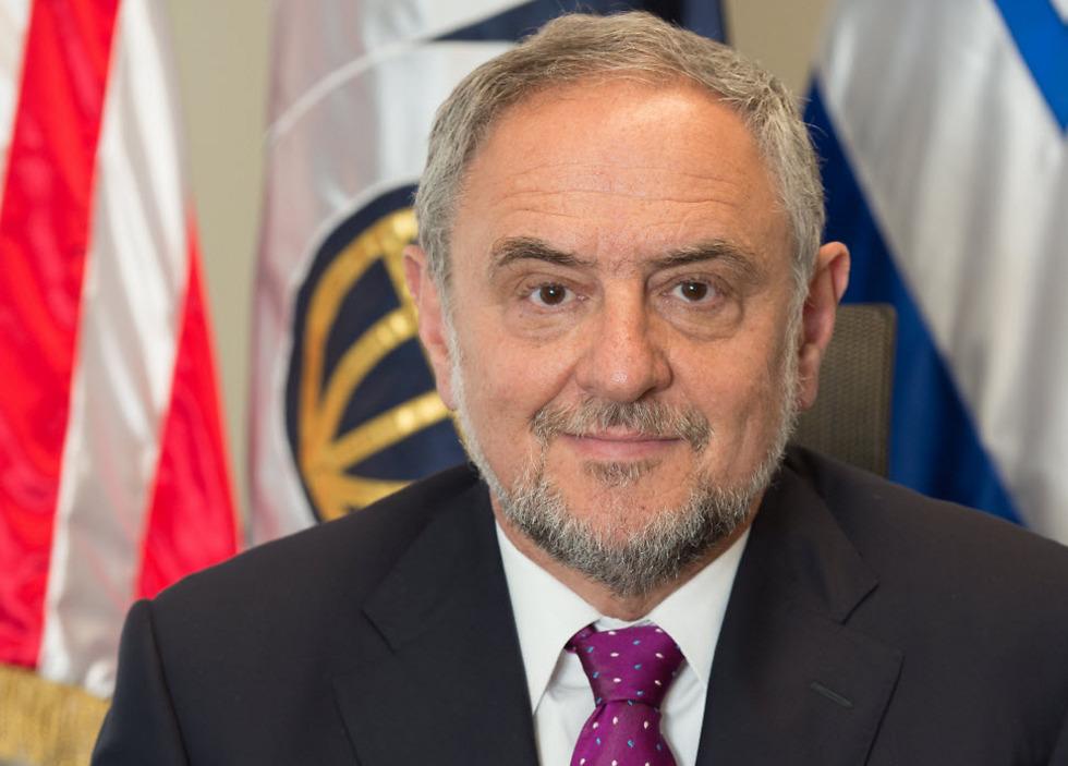 """""""מדינת ישראל תישאר כאן לדורי דורות"""". מנכ""""ל הקונגרס היהודי העולמי, רוברט זינגר.  (צילום: יחצ)"""