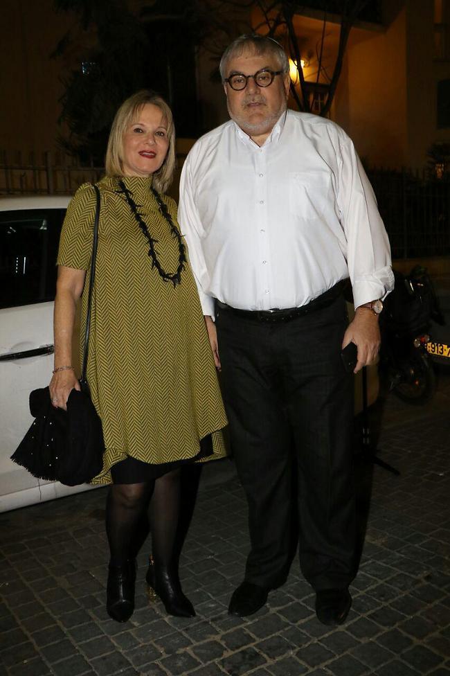 מנחם הורוביץ ואשתו (צילום: אמיר מאירי)