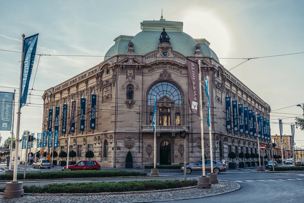 רבים מחשיבים אותו כמבנה היפה ביותר בעיר.  Beogradska Zadruga מציג סגנון ניאו-בארוקי עם נגיעות אר-נובו (צילום: Shutterstock/Fotokon)