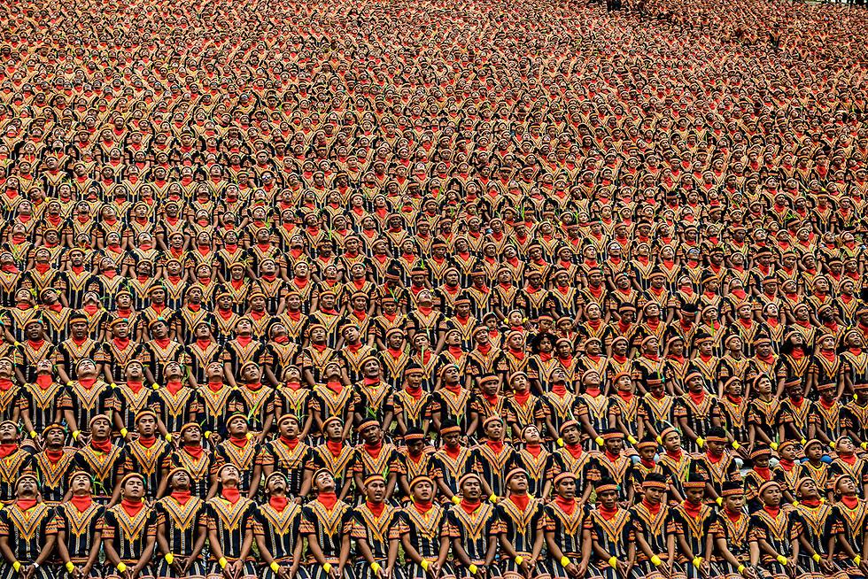 חזרה לטקס מסורתי באי סומטרה, אינדונזיה (צילום: AFP) (צילום: AFP)