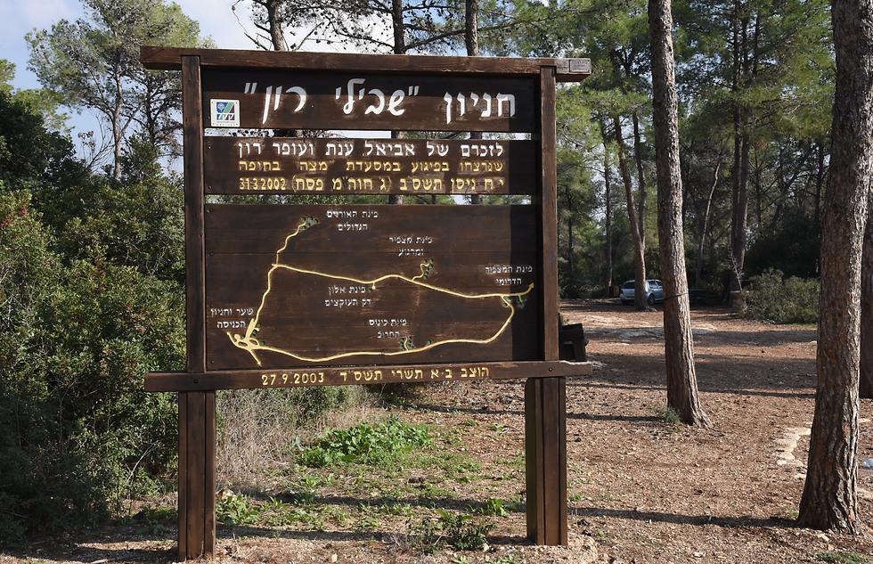 """""""שבילי רון"""" ביער עופר (צילום: אביהו שפירא) (צילום: אביהו שפירא)"""