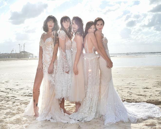 שמלה ממבט ראשון: הכלות של הפריים טיים מדגמנות בלבן. לחצו על התמונה לכתבה המלאה (צילום: איתן טל)