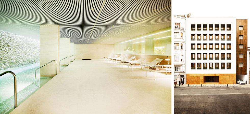 זריקה עכשווית של עיצוב מעודכן נמצאת במלון Square 9, שבעיצובו השתתף האדריכל הברזילאי איסיי וויינפילד (צילום: TOB)