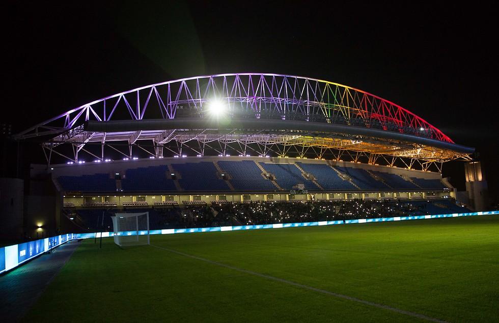 אצטדיון נתניה (צילום: עוז מועלם) (צילום: עוז מועלם)