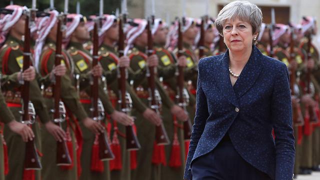תצטרך למצוא פיתרון יצירתי לשאלת הגבול בין הרפובליקה של אירלנד לצפון אירלנד. תרזה מיי (צילום: AFP) (צילום: AFP)