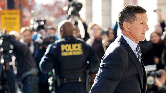 Flynn, entering court (Photo: AFP)