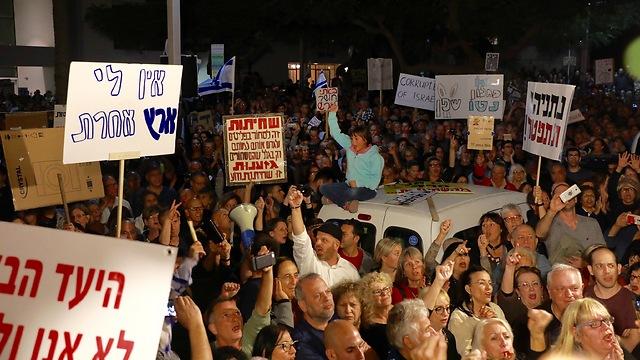 עשרות אלפים בתל אביב (צילום: דנה קופל) (צילום: דנה קופל)