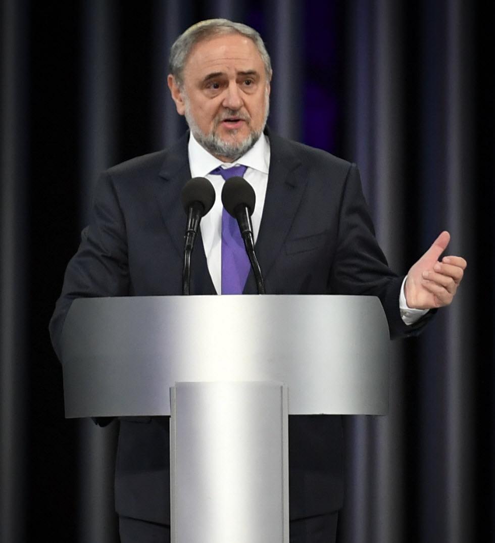 """רוברט זינגר, מנכ''ל הקונגרס היהודי העולמי (צילום: יח""""צ)"""