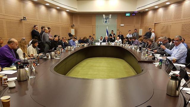 Knesset Interior Committee (Photo: Yishai Porat)