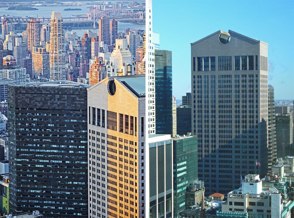 האם הוא יירשם כחלוץ המבנים הפוסט-מודרניסטיים שזכו להגנה ושימור? בניין AT&T של פיליפ ג'ונסון וג'ון בורגי במנהטן (צילום: Shutterstock, David Shankbone,cc)