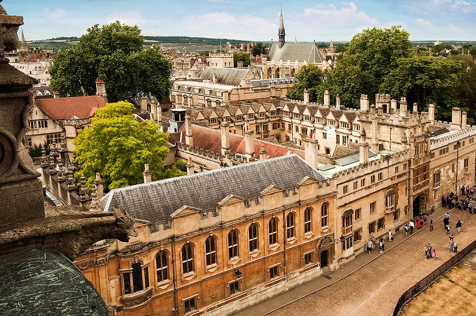 אוניברסיטת אוקספורד המפוארת (צילום: Depositphotos) (צילום: Depositphotos)