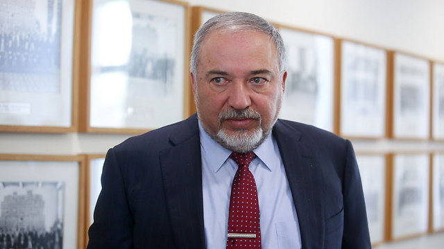 Defense Minister Lieberman. Aware of the slippery slope (Photo: AFP)