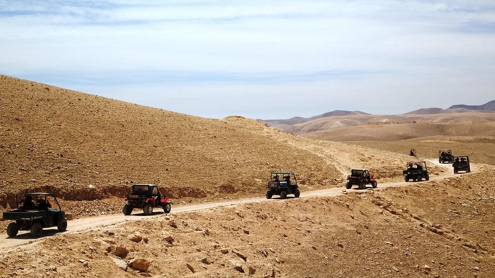 טיולי ג'יפים עם כנען תיירות (צילום: יפתח שביט) (צילום: יפתח שביט)