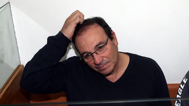Dov Zur, at court (Photo: Yariv Katz)