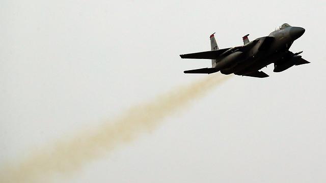 File photo of F-15 (Photo: EPA)